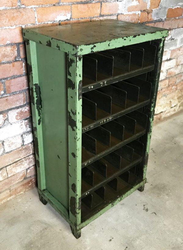 25 Pigeon Hole Engineers Industrial Cabinet Shelf
