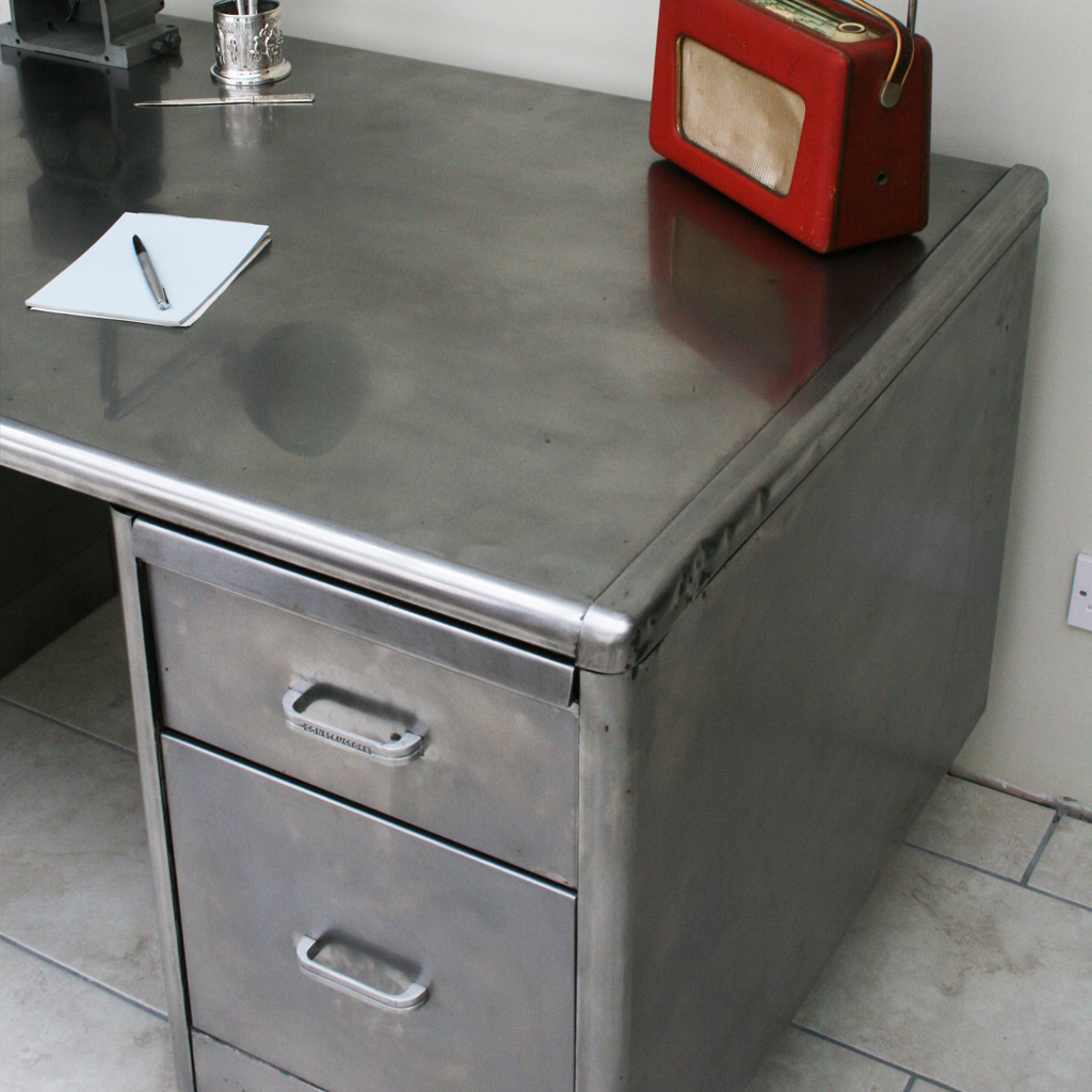Vintage Metal Office Furniture Beautiful And