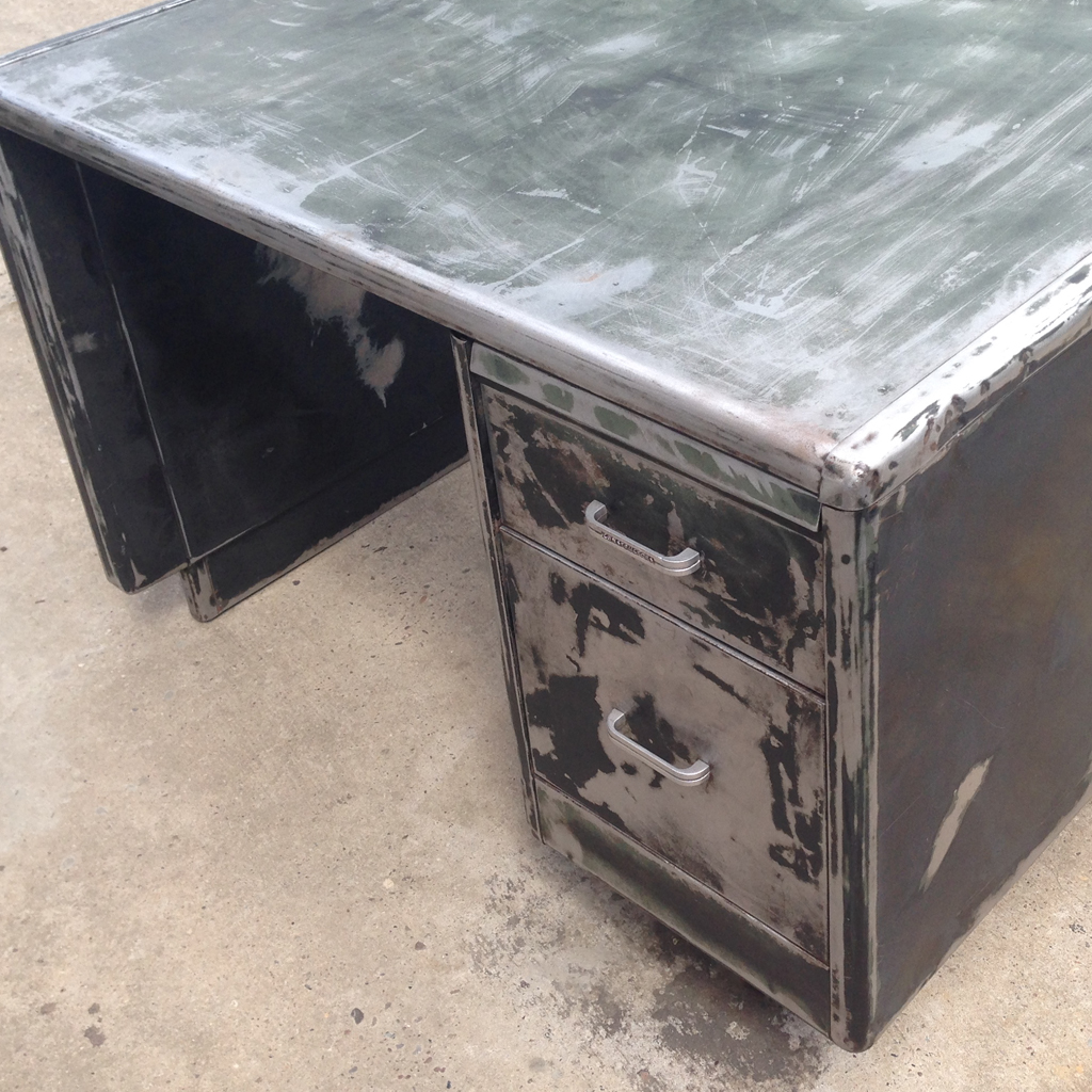 industrial office desk industrial chic vintage industrial original constructors metal office desk