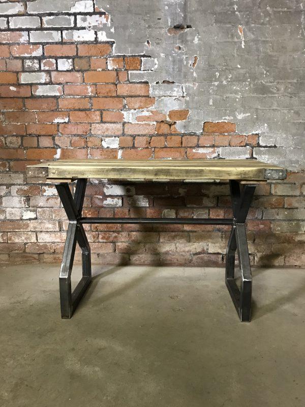 Industrial Reclaimed Scaffold Board Dinning Table