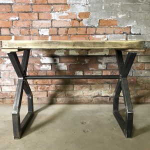 Industrial Reclaimed Scaffold Board Dinning Table