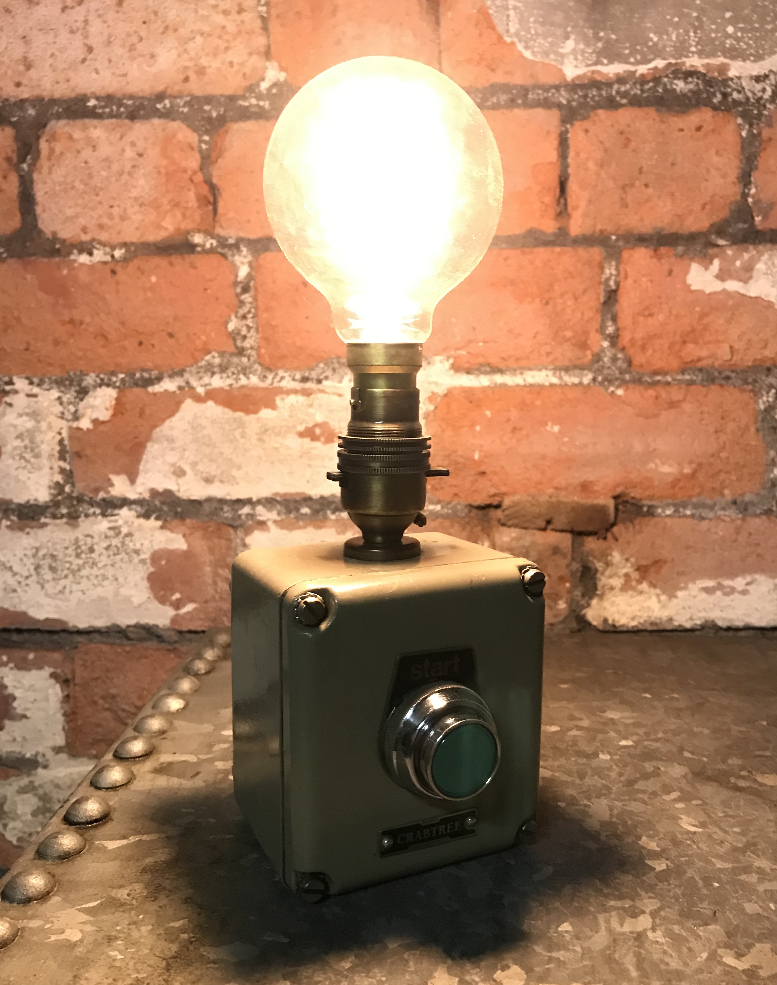 Original Crabtree Machine Switch Light Lamp