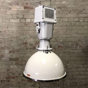 Industrial Thorlux Enamel Pendant Factory Lighting Light