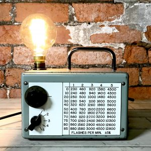 Industrial English Steel Valve Tester Lamp Desk Light