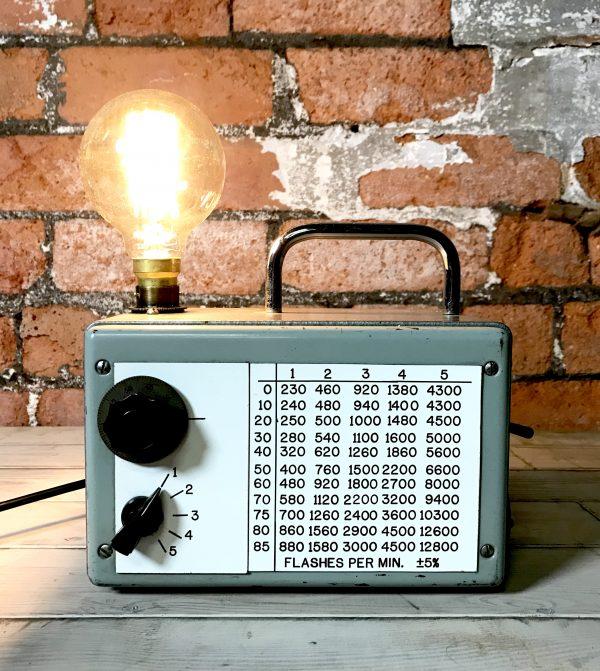 Industrial English Steel Valve Tester Lamp Desk Light