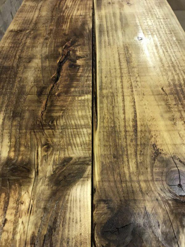 Industrial Reclaimed Scaffold Board Coffee Table