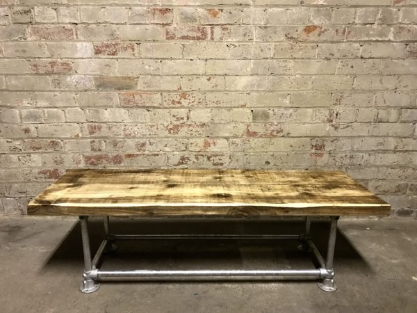 Industrial Scaffold Board Coffee Table