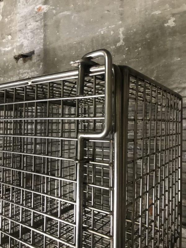 Industrial Vintage Metal School Lockers