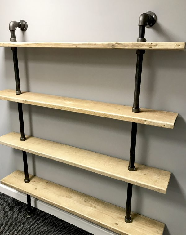 Large Industrial Pipe Shelving 2