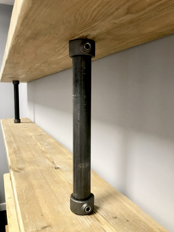 Large Industrial Pipe Shelving 3