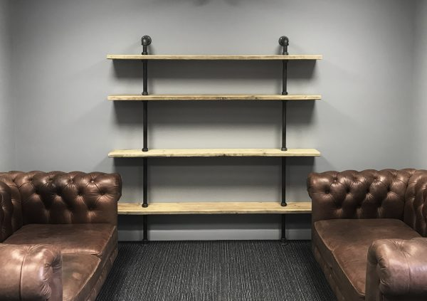 Large Industrial Pipe Shelving 6