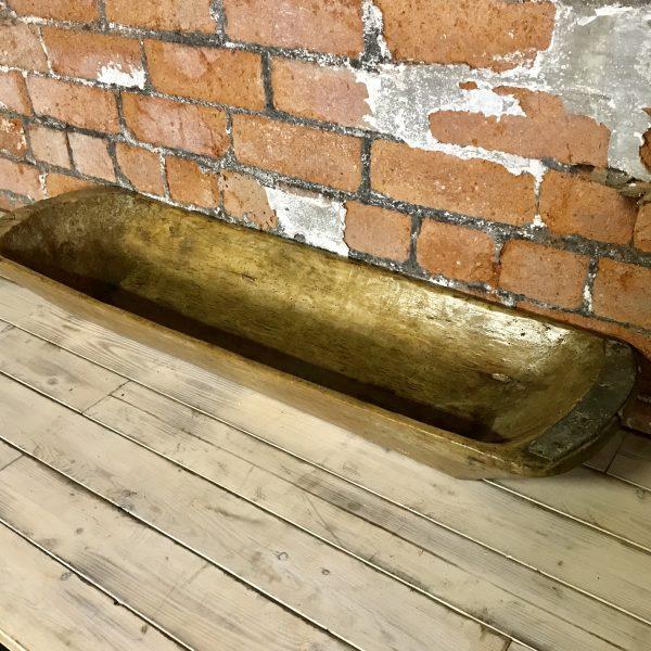Large Handmade Vintage Kneading Bowl