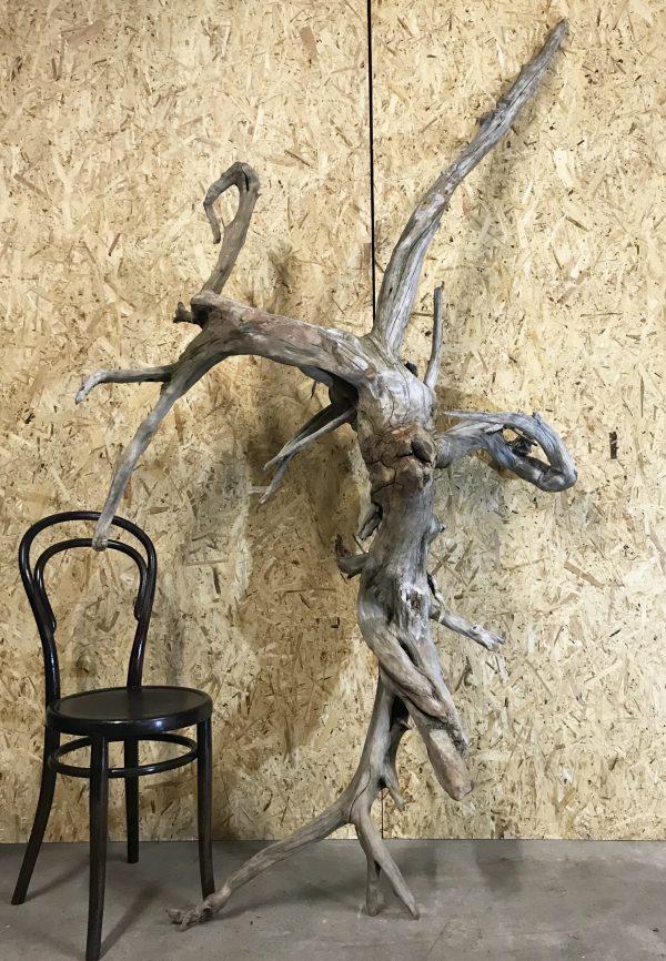 Stunning Scottish Natural Driftwood Art Sculpture Piece Great Patina