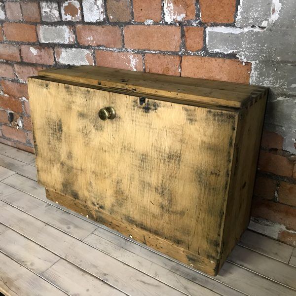 Vintage Industrial Handmade Workshop Toolbox