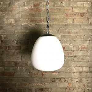 Vintage Opaline Glass Pendant Lighting Light Shade